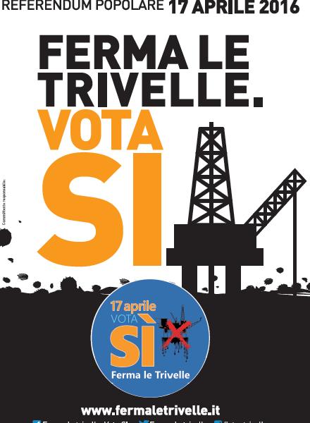 Il 17 aprile vota SI per difendere il nostro mare