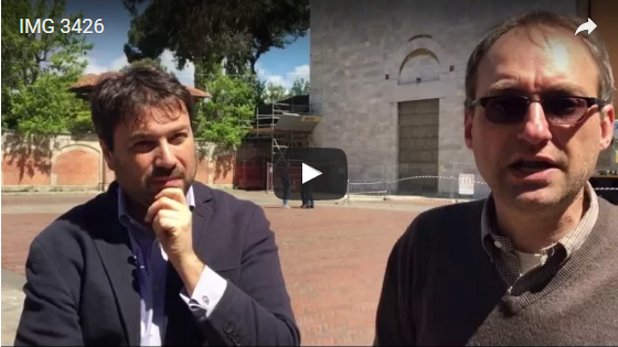 Video conferenza stampa Tomaso Montanari alla chiesa di San Francesco, per una nuova politica locale dei beni culturali in difesa dell'articolo 9 della Costituzione