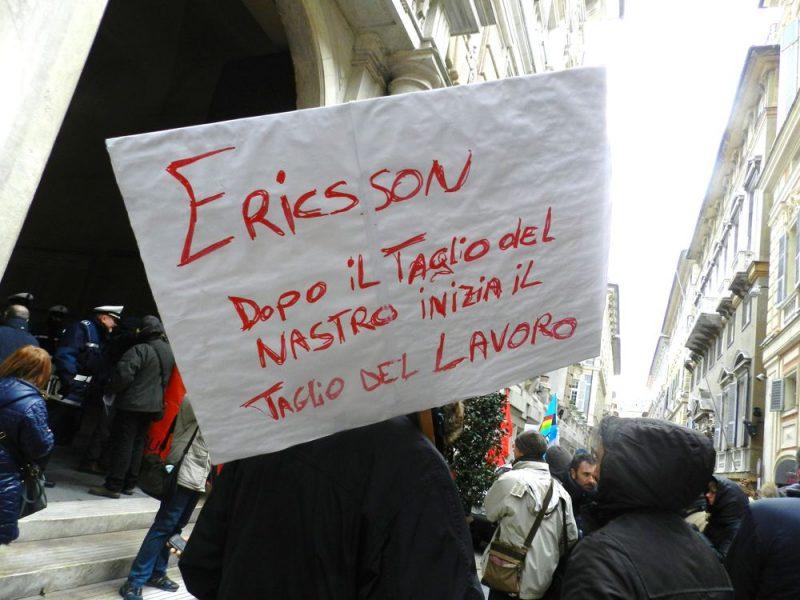 Mozione in consiglio Regione Toscana: Sostegno vertenza lavoratori e lavoratrici Ericsson Pisa