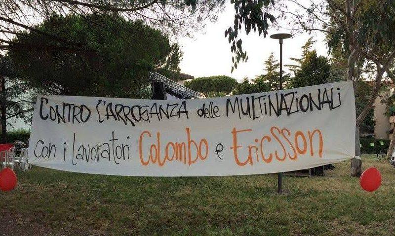 Carlo Colombo: operai licenziati e migliaia di euro di imposte non pagate. Una proposta di legge regionale sulle multinazionali
