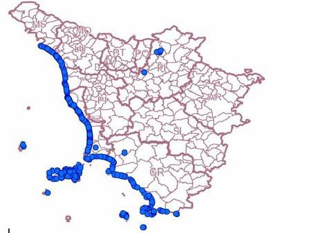 Il nostro piano per la costa Toscana