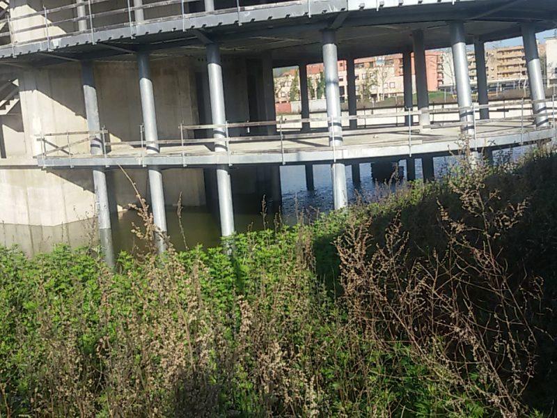 Cantiere del Parco delle Torri, segnalazione alle autorità competenti