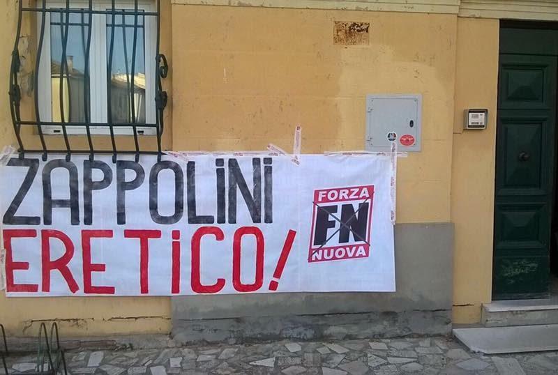 """Mozione di solidarietà a Don Armando Zappolini e condanna per atto squadrista di """"Forza Nuova"""""""