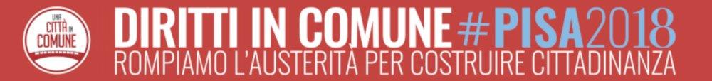 Una Citta' in Comune Pisa